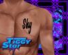 |TS| Shy Custom Tattoo