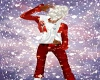 red christmas pants
