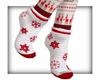 LKC Snowflake Socks