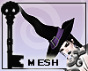 !X Witch Hat Mesh Female
