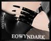 Eo) PVC Black Gloves