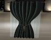 Sinlge BLK Opal Curtain