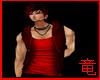 [竜]Red Muscle Hoody