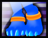 N: Nebula Paw Rings (M)