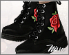 n| Combat Boots Rose