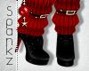 !S! Naughty Santa Boots