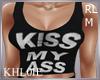 K Kiss my  top