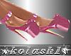 K*Shoes pink platforms