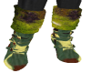 Camouflage Green Boots