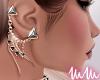 mm. Triangle Earrings