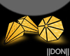 YELLOW Diamond Lamps