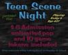 Teen Scene Party Poster