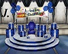 Blue Birthday Throne