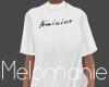 White Feminine Tshirt