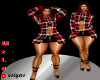 Xtra BM Red plaid