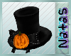 blinking pumpkin hat m/f