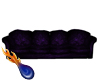 purple relaxed sofa