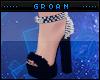A  Black Fur Heels