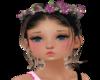 Pink/Purpleflowerwreath