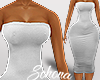 ṩLia Bodycon rll White