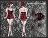 Gothic Swimsuit Vintage