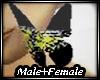 Butterfly w/Tirggers M/F