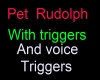 Pet Rudolph Anim.Nose