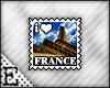 [E] I <3 France Stamp