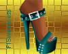 FLS Buckle Sandals - Tea