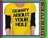 Hole Tshirt