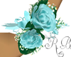 Wrist Corsage Blue