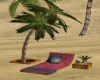 TROPICAL SUNBED/PALM