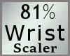 Scale Wrist 81% M A