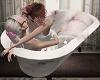 Lesbian Lovers Empty Tub