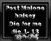 PostMalone Halsey die4me