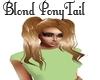 Blond PonyTail