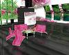 roze bloem house