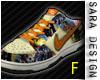 (SD) Sneakers Orange F