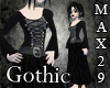 Gothic Goddess Gown-Long