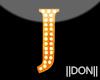 J Orang Neon Lamps