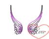 Purple/Blk Wings