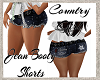 Country Girl Jean Shorts