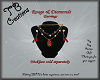Rouge & Diamond Earrings