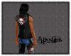 Winged Skull Vest (M)