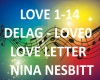 B.F LOVE LETTER NINA