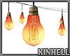 Bulb Strings (Fan Shape)