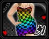 Av~BBW Checkers Rainbow