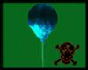 Balloon Toxic Blue
