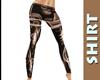 Pattern Brown Pants