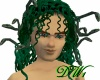 Green Medusa w/ Asps